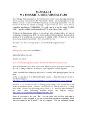 914 2 NOTES EDUCATIONAL PLAN