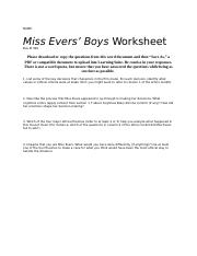 Miss Evers' Boys Worksheet (Fall 2016).docx