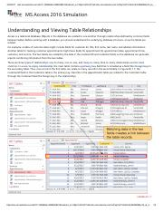 8 - Understanding and Viewing Table Relationships