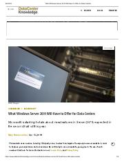 Windows Server 2019 Preview_ What's New and What's Cool pdf