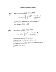 Chp 2 sample problems