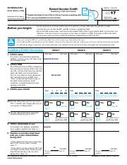 2017 Schedule EIC (Form 1040A or 1040).pdf - SCHEDULE EIC ...