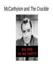 Crucible_McCarthyism.ppt