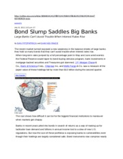 20130801-WSJ-Rate Increase hurts Bond Value