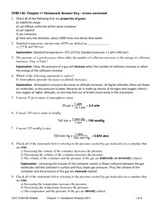 Worksheets 11 Chemical Reactions Answer Key chem 130 introduction to chemistry glendale community 3 pages chapter 11 homework answer key