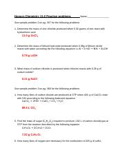 KEY Honors Chemistry 11-2 Practice problems.docx