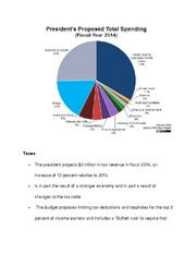 2014 Proposed Tax