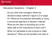 Chapter 3 - Discussion Questions