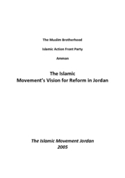 GOVT 331 - Muslim Brotherhood Manifesto