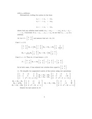 Linear Algebra Solutions 2