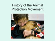 History of Animal Protection(1)