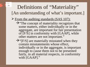 Chapter #3 PPT (Materiality)