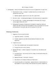 BS 110 Notes 12-3-2010