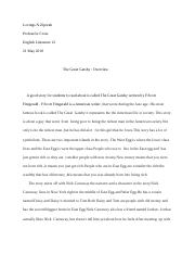 The Great Gatsby Overview.docx