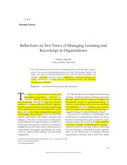Argote_learning in organisations.pdf
