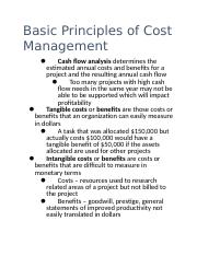 what are the five basic principles of cash management that a company can follow in order to improve  The list of principles is among the earliest theories of management and it is still one of the most comprehensive one even though there are many more concepts and theories now, fayol is considered to be one of the most influential contributors to the modern management concept.