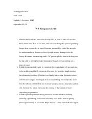 WR Assignment #10.docx