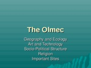 The Olmec-I