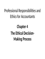 Week Four - Ethical Decision-Making Processes (1).pptx