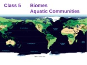 biomes-aquatic communites