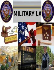 Copy of Introduction to Military Law.ppt
