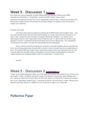 Bus 303 Week 5 Discusion and Final.docx