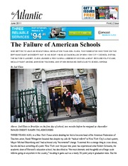 Reading-The+Failure+of+American+Schools+-+Klein+-+The+Atlantic