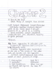 Chapter 2 notes