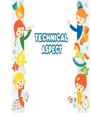 8. TECHNICAL ASPECT (old)