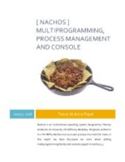 Nachos Multi-Programming