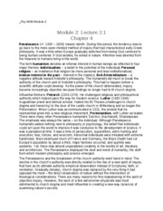 Psy 4604 Module 2 Notes