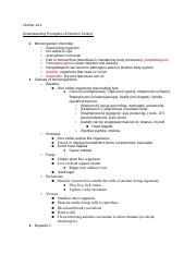 Outline 14_1 Understanding Principles of Infection Control .docx