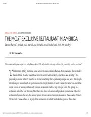 The+Most+Exclusive+Restaurant+in+America+-+The+New+Yorker.pdf