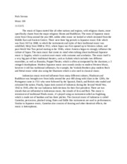 Essay on comedy show