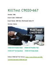 2018 Killtest C9020-667 Real Exam Q&As.pdf