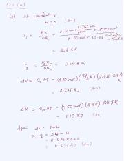 Thermodynamics Exer 2(b)
