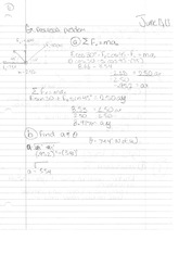 Phys 130 Class Notes- Newton 3rd Law of Motion