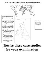 Year 11 Human Geog Case study guide.doc