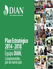 DocumentoPlanEstrategicoDIAN20142018_17042016.pdf
