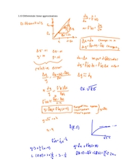 3.10 differentials and linearization