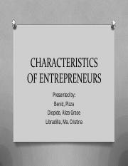 Chapter 4 - Characteristics of Entrepreneurs.pdf
