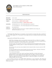 News Release 2