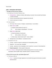 unit 7a rachel scher ap psychology unit 7a memory i the phenomenon rh coursehero com Psychology Mind Map Introduction to Psychology Exams