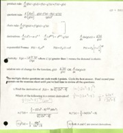 Product, Quoitent and Chain Rule Worksheet