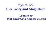 L19_Viet_Biot-Savart and Ampere¦s Laws