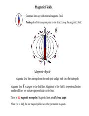 5 magnetic field and lorentz force
