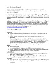 Engineering research proposal