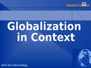 7 Global Context Analysis