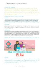 3.2 - The Foundation & Expansion of Islam.pdf