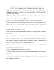 SPAN_131_Reading_Comprehension_Questions-1